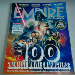 Empire Magazine August 2015  100 greatest movie characters